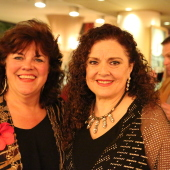 Grammy-Award winning soprano Pamela South with librettist Tiziana DellaRovere