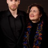 Composer Ethan Gans-Morse and Librettist Tiziana DellaRovere